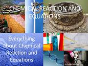 CHEMICAL REACTION AND EQUATIONS for class10th