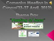 Cyprus meeting_planting Trees event