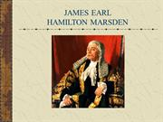 James Earl Hamilton Marsden - References