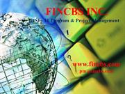 FINCBS - BFSI IT Project Management
