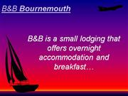 Search top B&B in Bournemouth