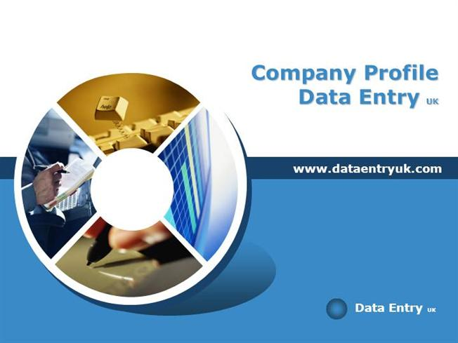 Data-Entry-Company-Profile |Authorstream