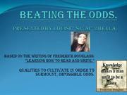 BEATING THE ODDS SLIDE 11[1][1][1]