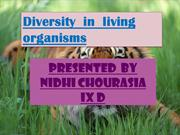 science prsentation (nidhi chourasia )