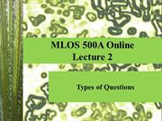 Lecture 2 MLOS 500_O 060812