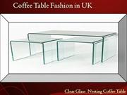 Top 10 Coffee tables in 2012