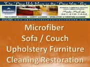 Microfiber Sofa Couch Cleaning 321-216-1442 Orlando