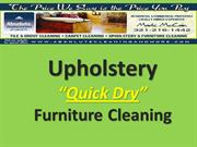 Upholstery Cleaning Quick Dry 321-216-1442 Orlando