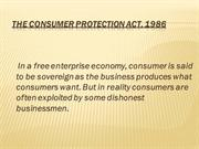 7. Consumer Protection Act
