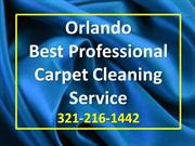 Orlando Best Professional Carpet Cleaning Service 321-216-1442