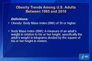 Obesity Trends as of 2010