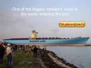 Giant Container Ship