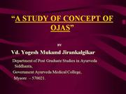 A STUDY OF CONCEPT OF OJAS 2