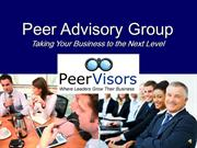 Join a PeerVisors Group