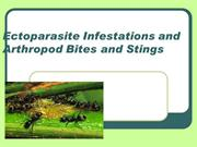 Ectoparasite Infestations and Arthropod Bites and Stings