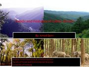State and features of  Indian forests