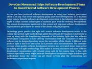 Software Development Firms In India