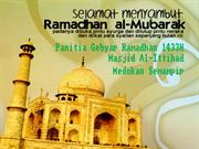 Proposal Panitia Ramadhan 1433 H