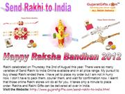Gujarat Gifts our Collection of Send Online Rakhi to India