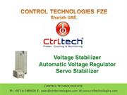 Voltage stabilizer. AVR. Voltage regulator. Servo stabilizer.