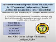Dissolution test for site-specific release isoniazid pellets in USP ap