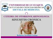 Otorrino- Sinusitis Cronica