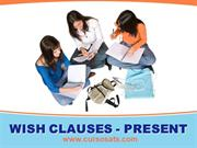 STUDY NOTES - WISH CLAUSES IN THE PRESENT
