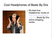 Cool Headphones of Beats By Dr Dre