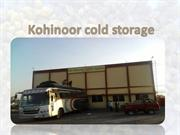 Kohinoor cold storage