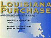 Food Stamps -- who can get them?