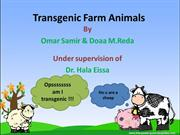 Doaa.M.Reda transgenic animal