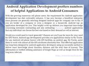 Android App Developers In UK