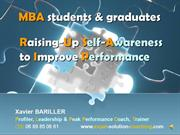 MBA students - Raising Up Self-Awareness & Improving Performance