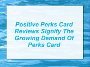 Perkscard Reviews