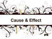 Cause and Effect Powerpoint (MS Standard 2b3)