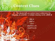 Context Clues Powerpoint (MS Standard 1d)