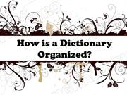 Dictionary Skills Powerpoint (MS Standard 1f)