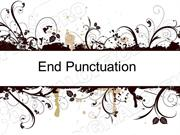 End Punctuation Powerpoint (MS Standard 4b1)