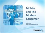 Mobile and the Modern Consumer