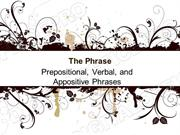 Prepositional Phrases Powerpoint (MS Standard 4c4)
