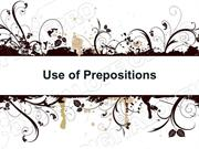 Prepositions & Prepositional Phrases Powerpoint (MS Standard 4a7)