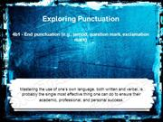 Punctuation Powerpoint (MS Standard 4b1)