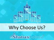 Why Choose Status Solved For SEOc