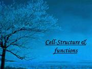 cell-structure and functions