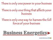 Business Energetics