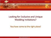 Mackmarkcards - Indian Wedding Cards