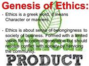 Ethical Products (1)