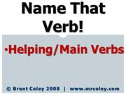 Name That Verb