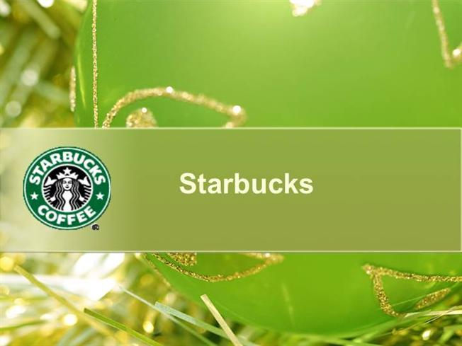 starbucks |authorstream, Modern powerpoint
