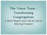 Vision Team PowerPoint